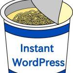 Instant WordPressを使って簡単にローカル環境を構築する